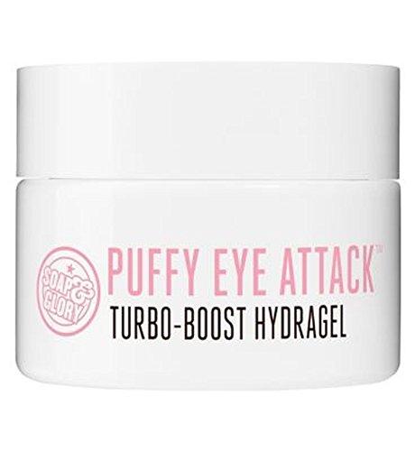 腫れぼったい目のアタックターボブーストHydragelの14ミリリットル石鹸&栄光 (Soap & Glory) (x2) - Soap & Glory Puffy Eye Attack Turbo-Boost Hydragel 14ml (Pack of 2) [並行輸入品]   B01N3KRNYV