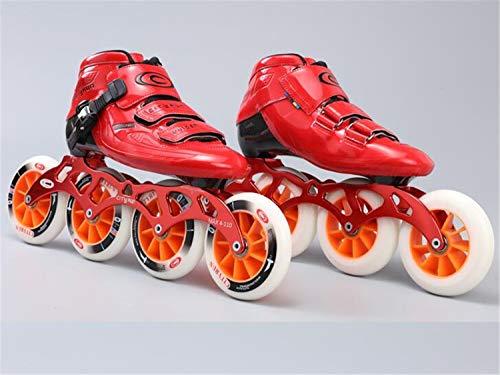 Fila Rodillo Patines En ov Zapatos Una Niños Recta Profesional Red Y Hombres Rueda Fibra Velocidad Lnyf Patinaje De Mujeres Línea Carbono Adultos 85Hnpqqwx