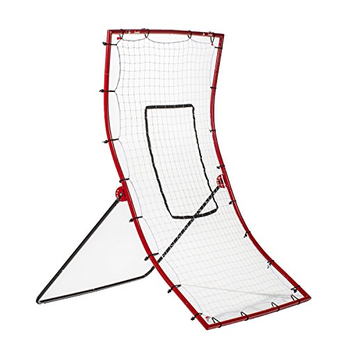 Franklin Sports Pitch Back Baseball Rebounder - Pitch Return Trainer and Rebound Net - All Angles for Grounders and Pop Flies - 68 x 44 Inch
