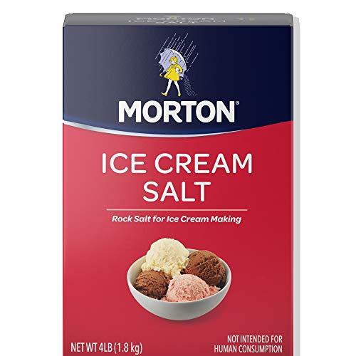 Morton Ice Cream Salt - Morton Ice Cream/Rock Salt, 4-Pound (Pack of 8)