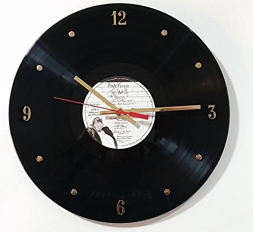 PINK FLOYD Vinyl Record Clock (The Wall)