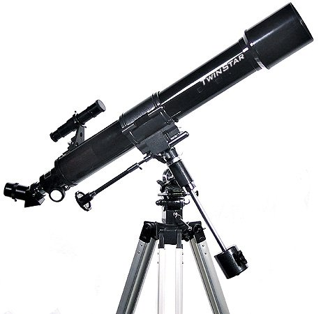 Blue Twinstar 70Mm Refractor Telescope