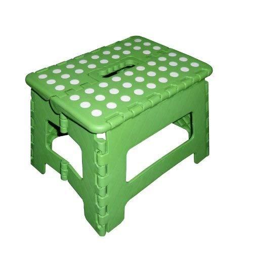 Kunststoff 32 x 25 x 22 cm gr/ün Zeller 13734 Klapphocker Color