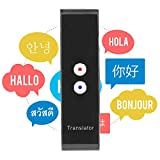Smart Language Translator Device, Real Time Two Way Voice Translator Support 44 Languages Chinese English French Japanese Spanish Russian for Learning Business Travel Meeting