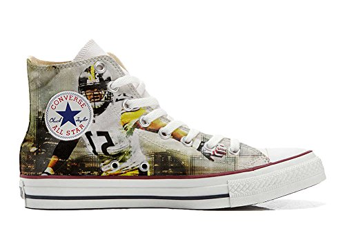 Converse Star producto Personalizados Handmade All Unisex Football Zapatos AzAqwUrS