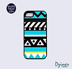 iPhone 5 5s Tough Case - Turquoise Cute Aztec iPhone Cover