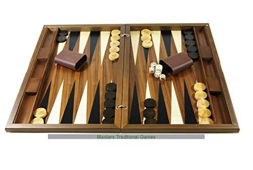 (Dal Negro London Walnut Backgammon Set )