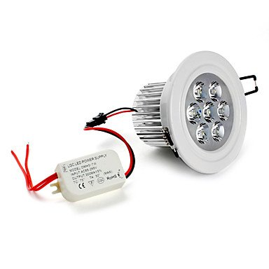 Alta calidad bombillas, LED empotrable luces luces de techo LED empotrables Retrofit 7 LEDs LED