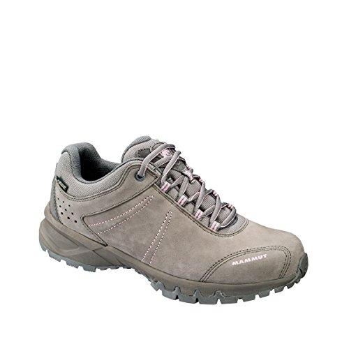 Mammut Wander-Schuh Mercury III Mid GTX, Zapatillas de Senderismo Para Mujer Grau (Ash-Rose 00130)