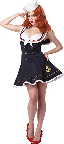 Costumes First Lady (California Costumes Women's Nautical Doll)