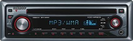 kenwood kdc-mp208 am/fm/cd/wma/mp3 receiver