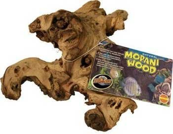 Reptile Mopani Wood for Aquariums [Set of 2] Size: Small (1.83'' H x 0.33'' W x 0.33'' L) by Zoo Med