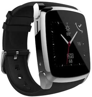 SKY Devices Sky Watch – 2G Smart Watch with Bluetooth Conectivity 1. 54 Inch IPS Screen and 8MB of ROM 0. 03MP Camera – Black
