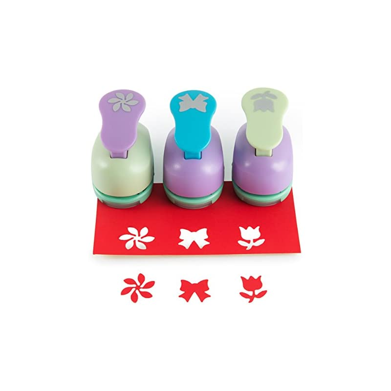 SICOHOME Scrapbooking Punches,Rose/Bowkn