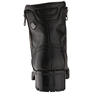 Harley-Davidson Women's Asher Motorcycle Boot, Black, 8.5 Medium US