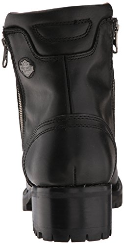 Harley Davidson Womens Asher Leather Boots Schwarz