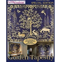 oidery Machine Designs CD SPECIAL EDITION GOLDEN TAPESTRY ()