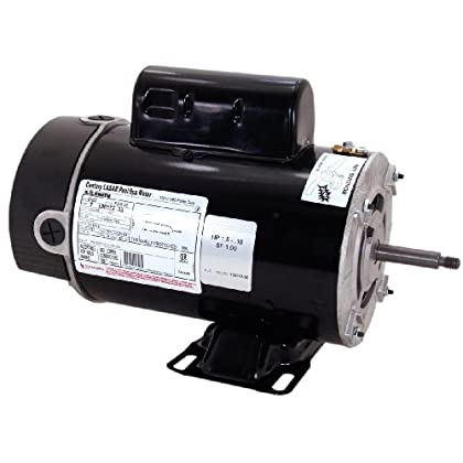 Image of A.O. Smith BN61 2 HP - 1/4 HP, 3450/1725 RPM, 2 Speed, 230 Volts, 8.5/2.8 Amps, 1 Service Factor, 48Y Frame, PSC, ODP Enclosure, Rigid Base Pool Motor