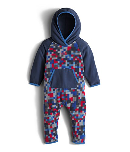 The North Face Kids Baby Glacier One-Piece (Infant), Cabaret Pink, 12-18 Months (Cabaret Outfits)