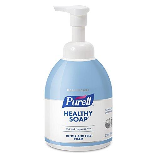 535 Ml Pump Bottle - PURELL Healthcare Healthy SOAP Gentle & Free Foam, 535 mL Counter Top Pump Bottle (Pack of 4) – 5776-04