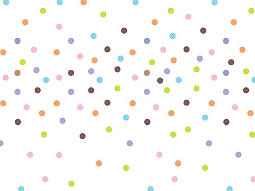 Sprinkle Dots Recycled Tissue Paper 240~20''x30'' Sheets Tissue Prints (240 Sheets) - WRAPS-P1254 by Miller Supply Inc