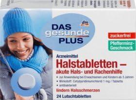 DAS gesunde PLUS Halstabletten – akute Hals- und Rachenhilfe, 1 x 24 St Arzneimittel