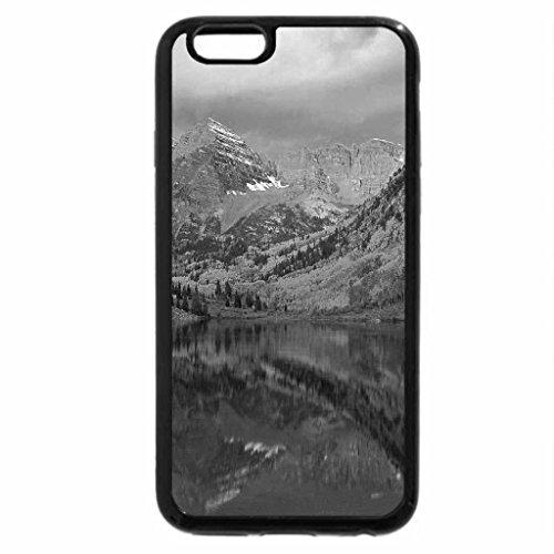 iPhone 6S Case, iPhone 6 Case (Black & White) - Autumn Landscapes