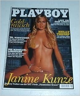 Janine nackt playboy kunze Janine Kunze