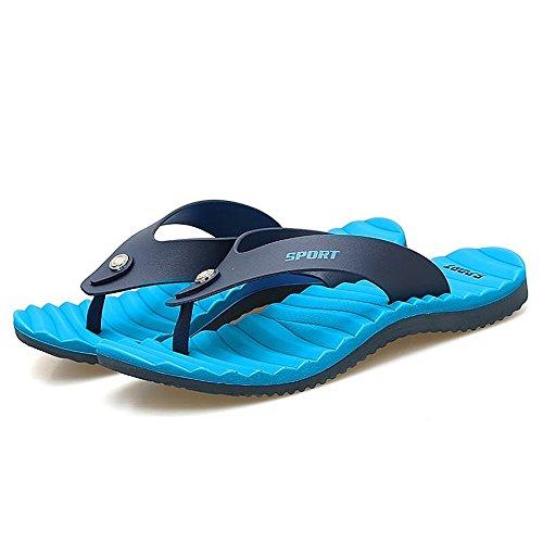 de plage Flip Flop Easy Bleu Hommes Sandales Pantoufle Go Shopping Classique Mode Sandales Thong Tongs masculine pour 17Sy18wRq