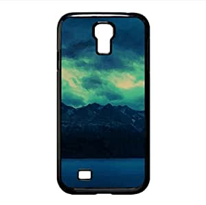 Mountains Watercolor style Cover Samsung Galaxy S4 I9500 Case (Mountains Watercolor style Cover Samsung Galaxy S4 I9500 Case)
