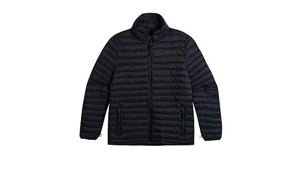 Animal Mens Packer Thinsulate Shower Resistant Winter Warm Jacket Black
