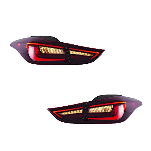 Elantra Led Tail Lights in US - 5