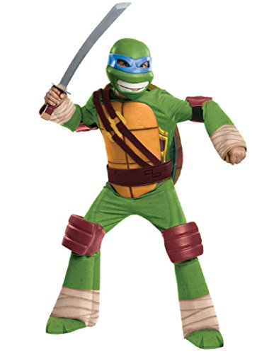 Rubies Teenage Mutant Ninja Turtles Deluxe Leonardo Child -