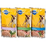 Pedigree Little Champions Variety Pack Meaty Ground Dinner Pouches Dog Food