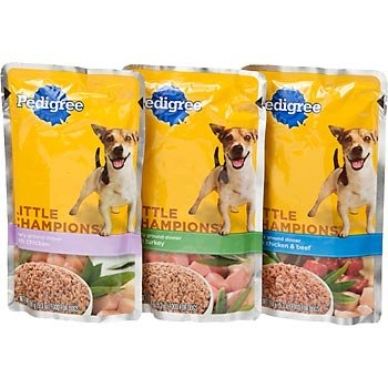Amazoncom Pedigree Little Champions Variety Pack Meaty Ground