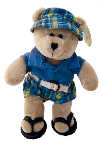 2007 Starbucks Bearista 10 Plush Summer Boy Bear