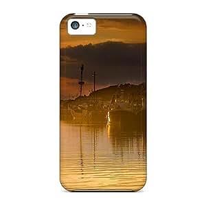 LJF phone case For iphone 4/4s Tpu Phone Case Cover(creek)