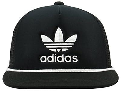 adidas Men's Originals Trefoil II Trucker Structured Cap by Agron Hats & Accessories