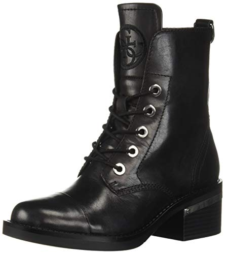 GUESS Women's Fastone Fashion Boot Black 8 M US