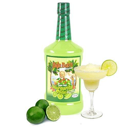 (Baja Bob's Sugar Free ORIGINAL MARGARITA Mix, 1.75L - Cocktail Mixer - Keto Friendly - Low Calorie - Low Carb)