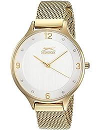 Slazenger SL.09.6126.3.01 Reloj para Mujer, color Oro, Estándar