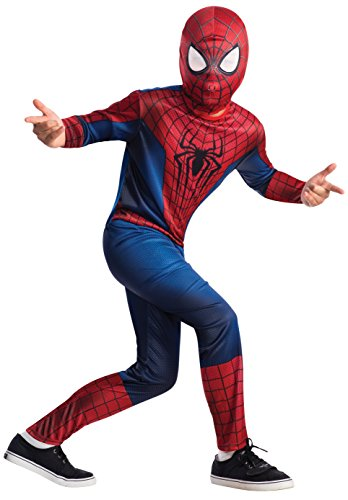 Amazing Spider Man Peter Parker Costume (The Amazing Spider-man 2, Spider-man Value Costume, Child Small)