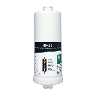 H2O+ HF-25 Pearl Carbon Block Water Filter