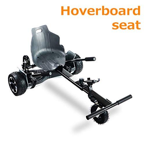 - AUBESTKER Hoverboard Go Kart - Compatible with All UL 2272 Hover Board - Fits for Kids Adults - Adjustable Size Kart - Shock Absorber and Phone Holder