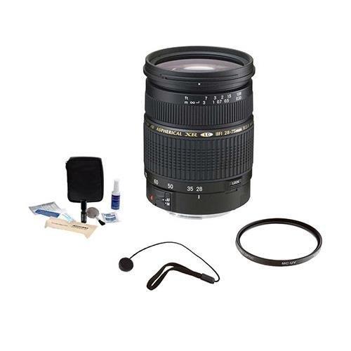 Tamron SP 28-75mm f/2.8 XR Di LD-IF AF Nikon Mount Lens Kit,