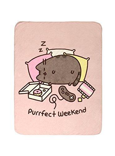 Hot Topic Pusheen Purrfect Weekend Throw Blanket