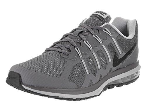 Nike Men's Air Max Dynasty Dark Grey/Black/Wolf Grey Running Shoe 9.5 Men US (Black Grey Air)