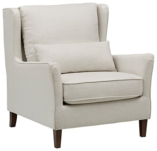 Stone & Beam Sascha  Wingback Removable Cushion Chair, 35