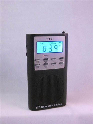 P-SB7 Spirit Box (Cosmetic Defect) & Free Music Ball Speaker for Amplified Sound