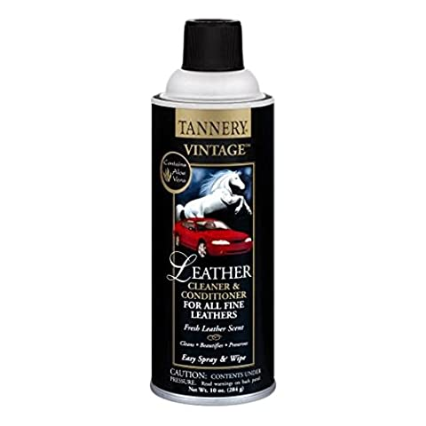 CRC Tannery Vintage Leather Cleaner and Conditioner (10 Ounce, 2-Pack) - Vintage Leather Accessories